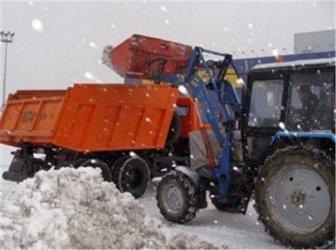 Уборка снега самодельный отвал